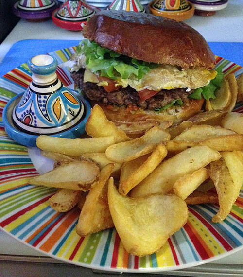Tropic Burger Boeuf Maison