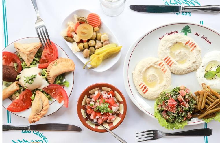 Les Mézzés Libanais